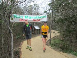 I Ran Marathons Valentine Double 143