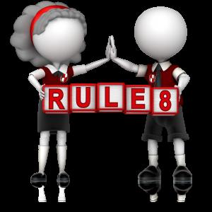 rule 8 a