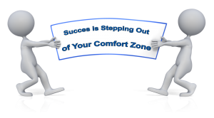 success is stepping out of comfort zone2