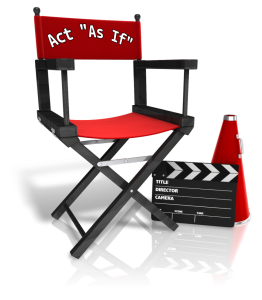 director chair act as if