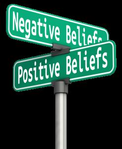 positive-negative beliefs
