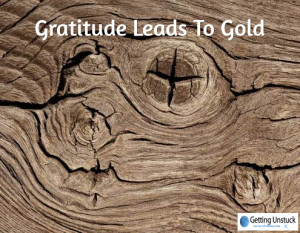 gratitude leads to gold