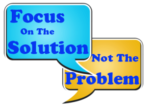 focus-on-solution-not-problem