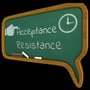acceptance v resistance