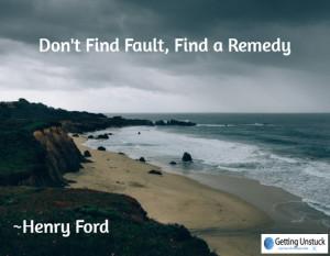 dont find fault